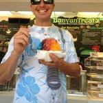 Banyan Treats Shave Ice w/vanilla…YES