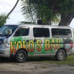the free shuttle bus from KOKOS.
