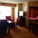 main room in suite