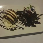 Dessert: Lava cake al la mode!