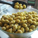 Olives from our deli counter