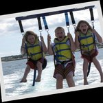 Kids parasail too!