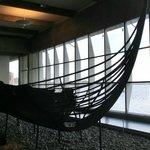 Barco viking exporto em Roskilde