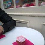 cupcake alla fragola