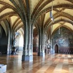 Внутри замка Альбрехтсбург