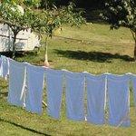 Fresh laundry.