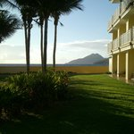 View of Nevis from the grounds of Marriott St Kitts