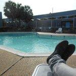 espace detente piscine