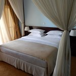 Great bed with mosquito netting