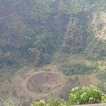 vista del crater