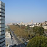 City View from our balcony.