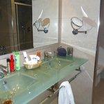 Our luxury bathroom.