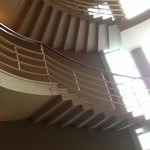 The art deco staircase