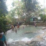 Touring Jamaica - Dunn's River Falls