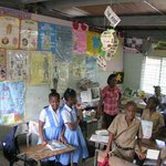 Touring Jamaica - Visiting Local School