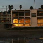 Sunrise in Santa Cruz, Dream Inn
