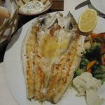 Grilled whole fish, juicy and tasty!!