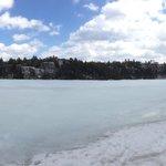 Lake Minnewaska in March