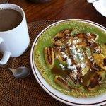 The banana pancake breakfast is the best!
