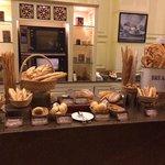 breakfast Spread-Bread selections