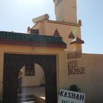 The entrance of the Kasbah