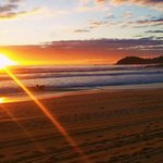 Beautiful Sunrise over Manly Beach