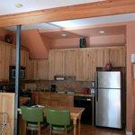 Copper City Inn kitchen
