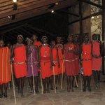 The Massai Warrior Dance