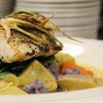 Enjoy a selection of fresh fish
