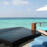 fantasic water villa!