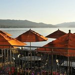 The Lake Grill is the only restaurant located right on the waters of Payette Lake.