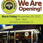 We are opening!