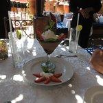 Chef Karina's Anniversary Dessert
