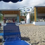 Beach bars part of all inclusive.