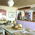 fragrant and colorful kitchen