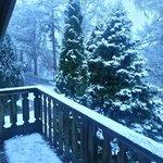 View from veranda Dunvegan lodge