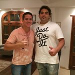 Eu e o Roman!!