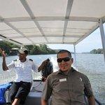 Captain Oscar with Sergio Guide