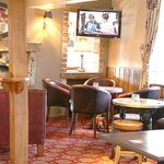 Our bar where you can enjoy a tipple or two!