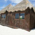 cabana on beach