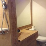 'Industrial Chic' bathroom