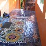 just a simple tile job