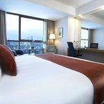 Club Deluxe Room. Enjoy spacious comfort plus access to Crowne Club Lounge