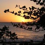 Sunset from beach
