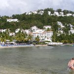 View of Hotelfrom beach