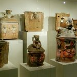 Mayan Burial Vases at Museo Popol Vuh