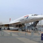 Concorde exterior is included in base admission price