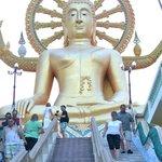 Большой сидячий Будда на о.Самуи