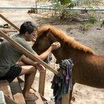 Michael and Pony
