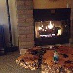 Gas fireplace, Sandstone Creek, Unit 2304